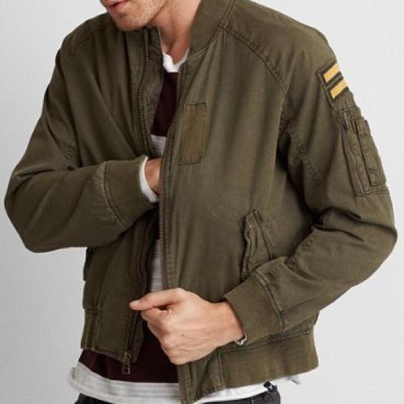 🌟EUC Military Bomber Jacket